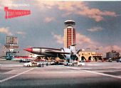 Thunderbirds - 'Thunderbird One at London Airport' Postcard